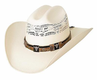 dd8540be939d2 NEW Bullhide Hats 2665 Out Of The Chute 20X Natural Cowboy Hat