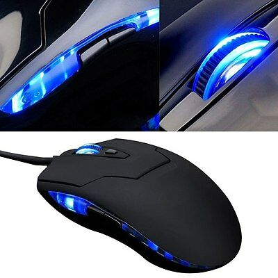 Pro Souris Optique 2400 DPI Filaire USB Gamer Gaming Mouse 6 Boutons PC Laptop