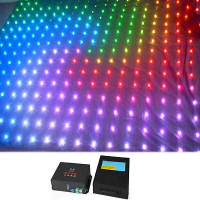 3 mtr x 4 mtr P20 RGB LED Video Curtain DJ Party Garden Stage Backdrop