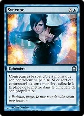 MTG Magic RTR - (4x) Syncopate/Syncope, French/VF