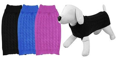 Pet Dog Jumper Sweater For Small Dogs Puppies 3 colours 3 sizes AU Seller