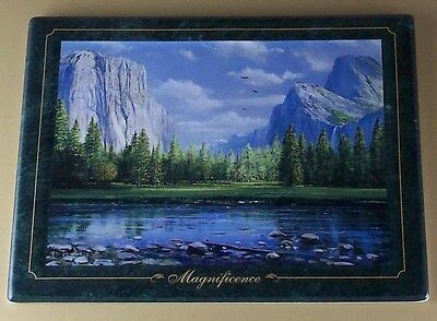 Mountain Majesty MAGNIFICENCE Plate Peter Ellenshaw #2 Bradford Exch Mountains