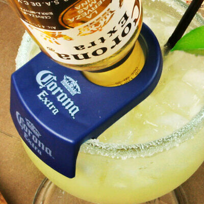 CoronaRita Bottle Holders - Set of 6 | Corona Rita Margarita Glass Clip Coronita