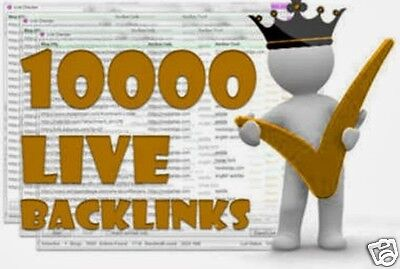 10,000 Blog Commenting Backlinks -We GUARANTEED 10 000 LIVE LINKS! + Full Report