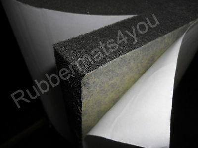 Self-adhesive Acoustic Soundproofing Fire Proof CLASS O FOAM Reduce Engine noise