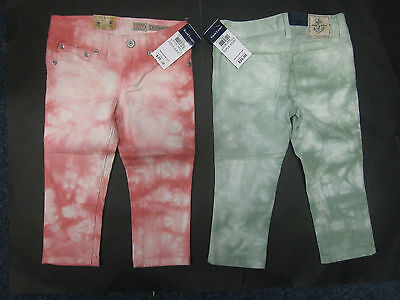Girls designer trousers skinny cropped age 2 3 4 5 6 12 13 14 15 RRP $39.99 NEW