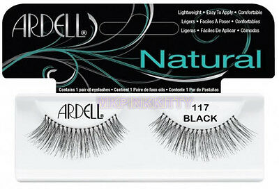 3a8ada45433 ARDELL NATURAL OLD PKG 61710 Lashes #117 - False Eyelashes * NEW ...