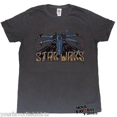 Star Wars X-Wing Junk Food Licensed Adult T Shirt