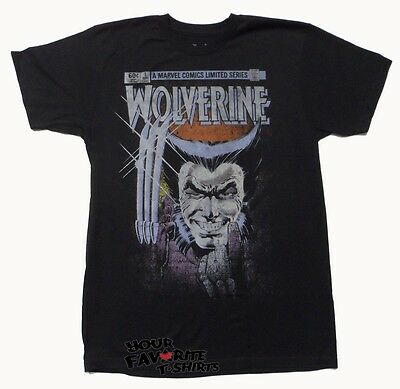 Wolverine First Issue X-Men Marvel Comics Premium Licensed Adult T Shirt