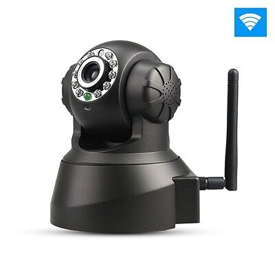 Wireless Wifi Home Security Camera Baby Monitor IP Audio Night Vision Pan/Tilt