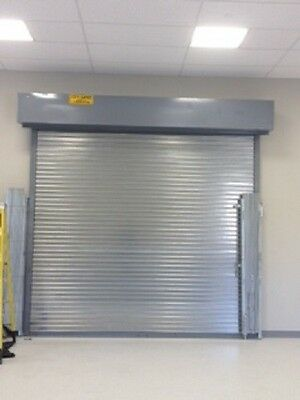 Fire Rated Roll Down Door With chain hoist system 3 hour rated 6w x 8h
