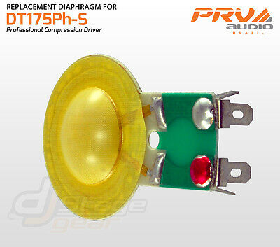 PRV Audio - RPDT175Ph Replacement Diaphragm For DT175Ph-S and DT175 - RPD175