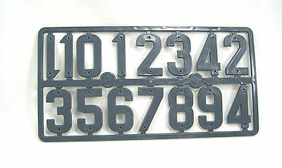 6 x sets of series BEE HIVE NUMBERS