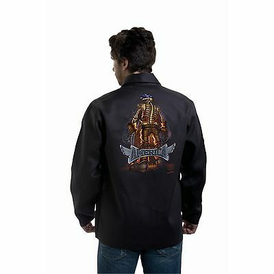 Tillman 9061 Back Bone of America Black Onyx Welding Jacket - XL