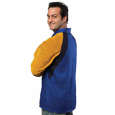 Tillman 9360 Freedom Flex FR Cotton/Leather Welding Jacket - M