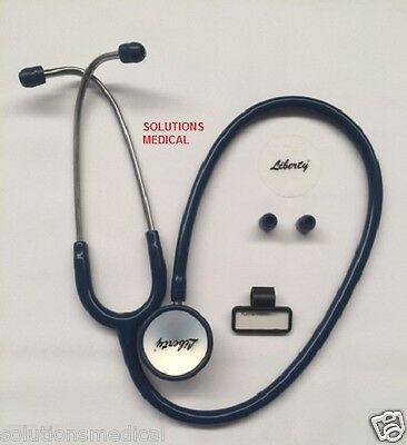 Stethoscope Doctors Dual Head Professional Navy Blue