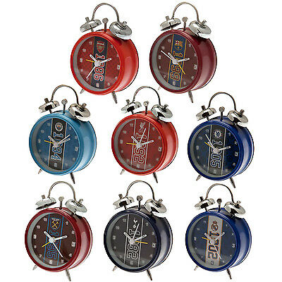 Official Football Club - ALARM CLOCK Est (Classic Bell) Choice of Team (Gift)