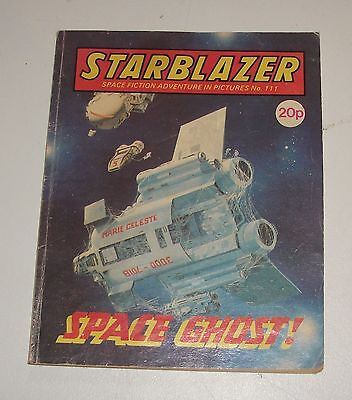 #111 Starblazer Picture Library - SPACE GHOST! - 1983
