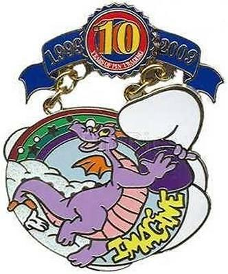 Figment Disney Pin Trading 10Th Anniversary Tribute Collection Le 1000 Wdw