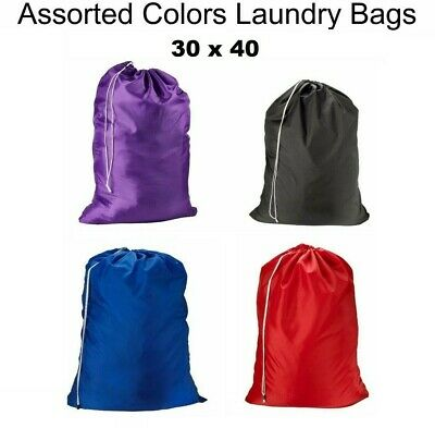 Heavy Duty Sized Nylon Laundry Bag Great for College