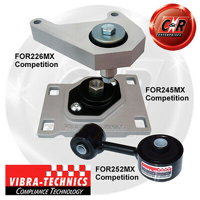 Ford Focus (98-04) ST170, SVT Vibra Technics Full Engine Mount Race Kit