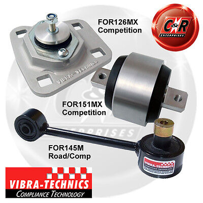 Ford Fiesta MK4 Vibra Technics Full Engine Mount Race Kit