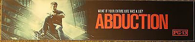 Abduction, Large (5X25) Movie Theater Mylar Banner/Poster