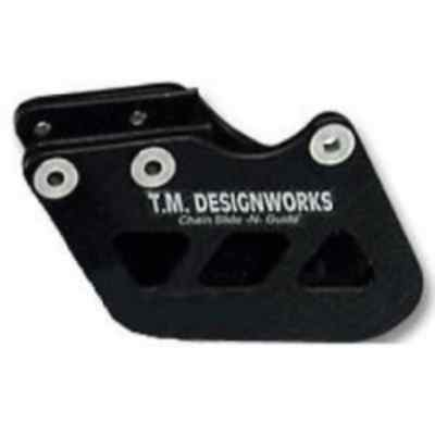"T.M. Designworks BLACK ""Factory 1"" Chain Guide for Yamaha 1996-06 WR250F WR450F"