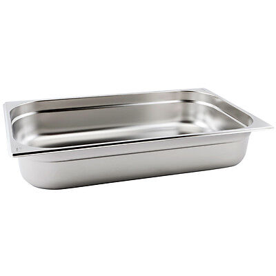 Genware Gastronorm Pan 1/1 Full Size 100mm Deep