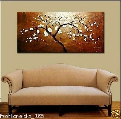 Modern Abstract Large Oil Painting On Canvas Art - Tree (With framed)