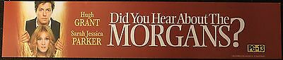Did You Hear About the Morgans?, Large (5X25) Movie Theater Mylar Banner/Poster