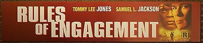 Rules of Engagement, Large (5X25) Movie Theater Mylar Banner/Poster