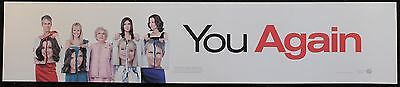 You Again, Large (5X25) Movie Theater Mylar Banner/Poster