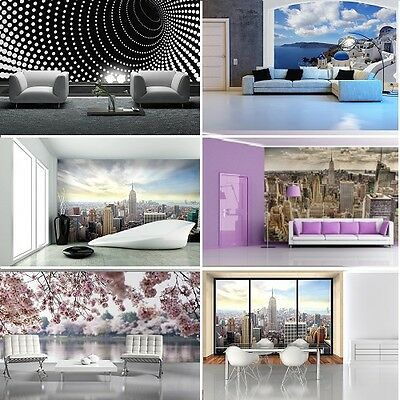 WALLPAPER MURAL PHOTO Cityscape GIANT WALL DECOR PAPER POSTER LIVING ROOM ART
