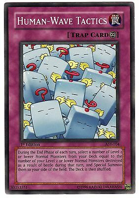 Human-Wave Tactics AST-104 carte Yu-Gi-Oh! 1st First Edition (ENGLISH CARD)