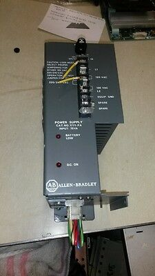 Allen Bradley Bulletin 1771Pa Power Supply-Ser.b Used