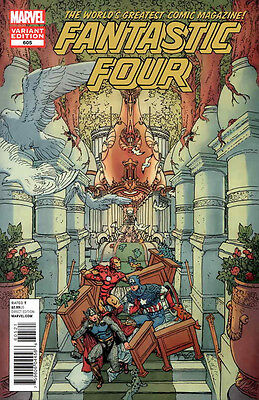 Fantastic Four #605 Avengers Appreciation VARIANT by MIKE KALUTA NM New Marvel