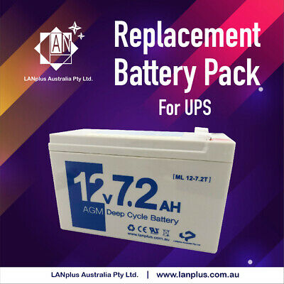 New Battery Replacement For Eaton Powerware 5110 UPS 700VA Invoiced 1 Year WTY