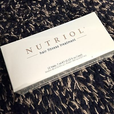 Nu Skin Nuskin Nutriol Hair Fitness Treatment Moisturize Hydrate Increase Volum