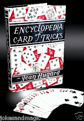 Encyclopedia Card Of Tricks Book By Jean Hugard Professional Magician Prop