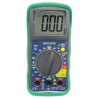 Mountain 8720 Digital Multimeter with Built-in Temperature Readings