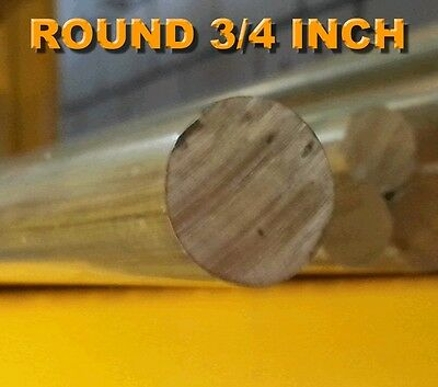 Brass Rod 3/4 Inch Round FREE CUTTING BRASS ALLOY C385 PER 1 METRE LENGTHS