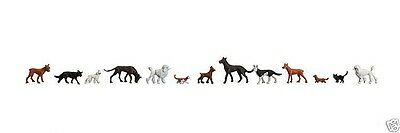 Faller 155327 Dogs and Cats  spur n 1:160