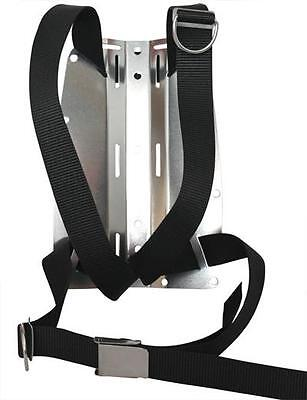 DIR type harness with aluminium backplate. Choice of colours. Red Hat Diving