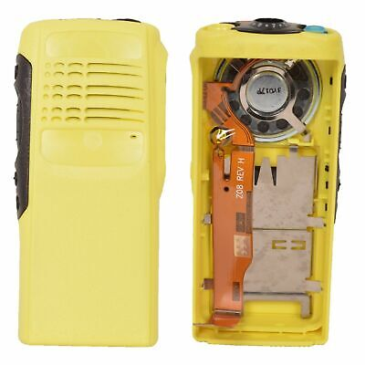 Yellow Replacement Cousing Case for Motorola HT750 Portable Radio (Speaker+mic)