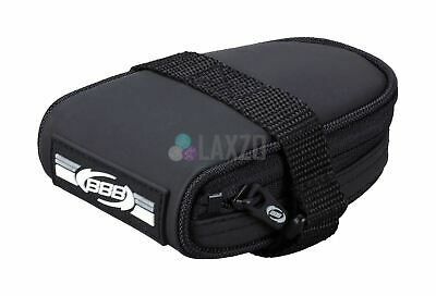 BBB BSB-14 Racepack Saddle Seat Compact Bag Black Waterproof Bike Cycle Bicycle