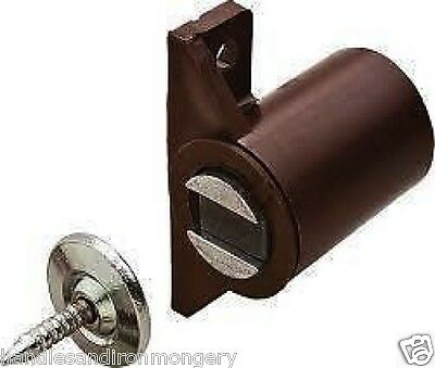 Magnetic Catches 3-4 Kg White or Brown Surface Mounted with Pin