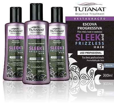 KIT TUTANAT SLEEK AND FRIZZLESS HAIR Trattamento lisciante alla keratina