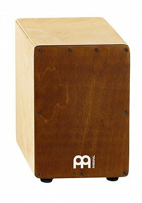 Meinl Mini Cajon Percussion Drum Almond Birch SCAJ1NT-LB