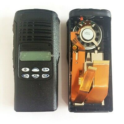 Black Replacement Housing Case for Motorola HT1250 Limited-keypad Portable Radio